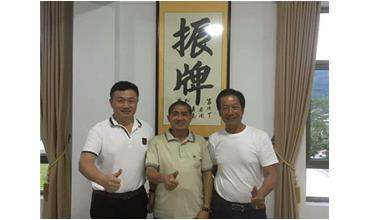 President in Indonesia Seaweed Association Came to Zhenpai